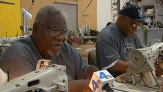 Veterans Sew to Help Troops