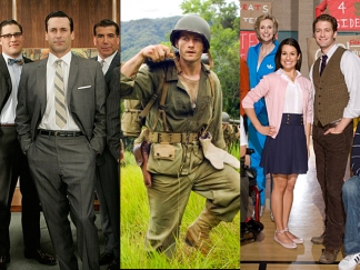 "In Pictures: ""Mad Men,"" ""The Pacific""and ""Glee"" Lead Emmy Nods"