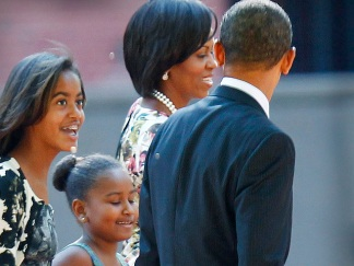 Obama the Family Man