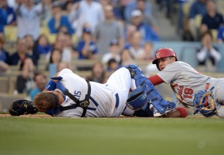 Dodgers Lose to Cardinals 7-0