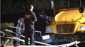 School Bus Nearly Crushes 5-Year-Old Girl