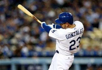 Gonzalez Hits Home Run Hat Trick