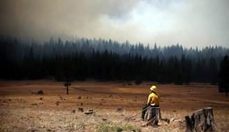 11 Major Wildfires Burn in California