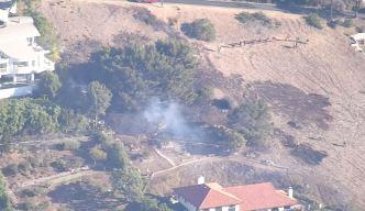 Small Brush Fire Contained in Malibu