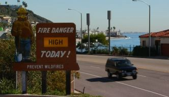 Wildfire Threat to Remain High Through Saturday