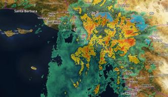 Flash Flood Warning Issued for LA County Burn Areas