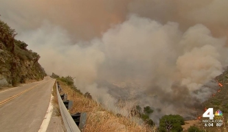 Air Quality Advisory Amid Santa Clarita Fire