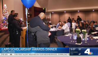 'Learn to Lead' LAPD Scholarship Awards