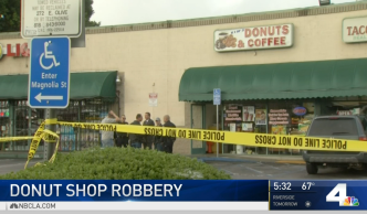 Doughnut Shop Owner Fights Back in Armed Robbery