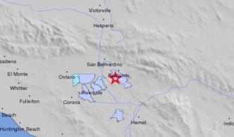 Magnitude-2.8 Quake Reported in Redlands Area