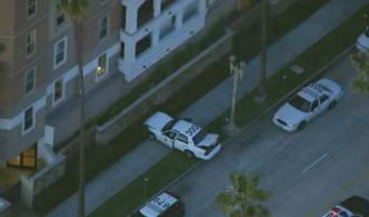Stolen Patrol Car Crashes Into Apartment