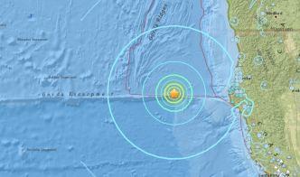 Offshore Magnitude-6.5 Quake Shakes Northern CA Coast