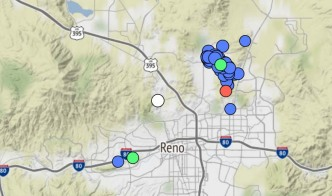 Scientists Are Keeping an Eye on a Swarm of Small Earthquakes in Nevada