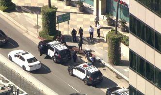 2 Arrested After Stolen Car Pursuit Ends Near Sherman Oaks Galleria