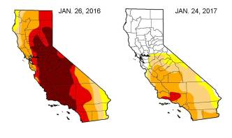Winter Storms Knock Out Worst of California Drought