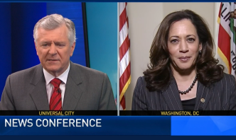 NewsConference: Sen. Harris to DHS Secretary: Detainees Have Right to Counsel