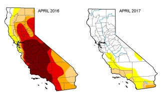Governor Lifts Drought Emergency for Most of California
