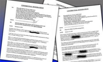 Confidential Memos Allege Sexual Harassment at DA's Office