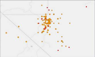 Quakes, Aftershocks Shake Parts of Nevada, California