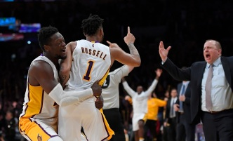 D'Angelo Russell Loses Grandma, Wins Game