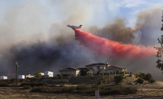 300-Acre Liberty Fire Reaches 100 Percent Containment