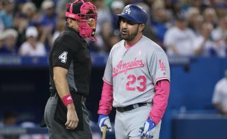 Dodgers' Adrian Gonzalez Headed to DL?