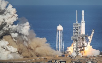 SpaceX's Most Powerful Rocket Is Ready for Its First Commercial Launch