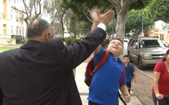 First Day of School Begins in LAUSD