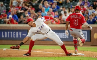 Profar Starts Triple Play And Homers, Rangers Rally Past Angels