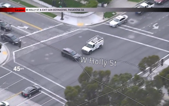 Driver of White Utility Truck Slams Into SUV During High Speed Chase