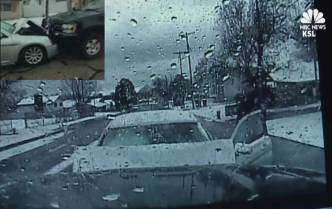 Dashcam Video: Distracted Driver Crashes Into Deputy's SUV