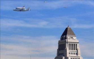 Historic Final Endeavour Journey Ends in Los Angeles