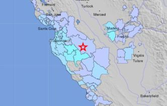 Quake Shakes Central CA From Coast to Sierra Foothills