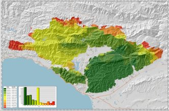 Map: How the Thomas Fire Became One of CA's Largest Blazes