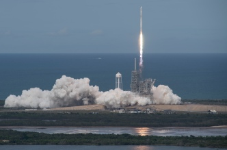 Falcon 9 Rocket Launches From Vandenberg Air Force Base