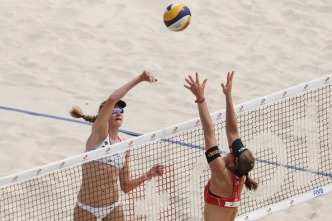 Beach Volleyball: More Than Sport in SoCal