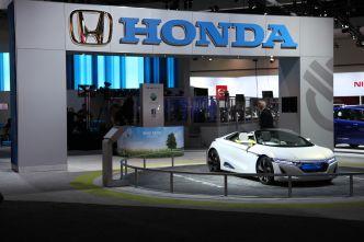 2013 LA Auto Show Exhibitor Map