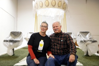 Couple Together 17 Years to Marry on Rose Parade Float