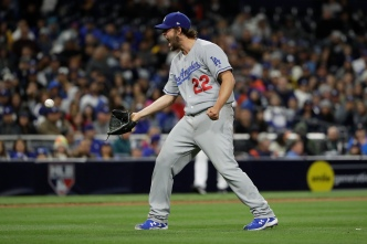 Kershaw, Bellinger Lead Dodgers Over Padres