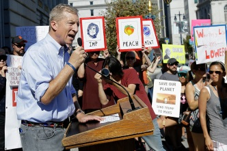 Steyer Says Trump Impeachment Campaign is 'Serious'