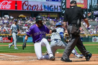 Rockies Beat Dodgers Again on Walk-Off Walk
