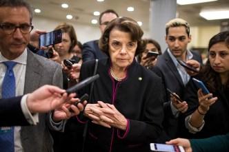 NewsConference: Senator Feinstein Seeks Another Term