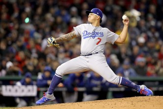 Dodgers Looking at Urias or Stripling to Fill Hill's Spot