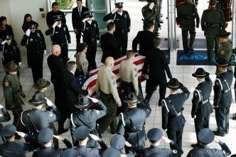 Law Enforcement, Family Mourn Ventura Deputy Killed in Borderline Shooting