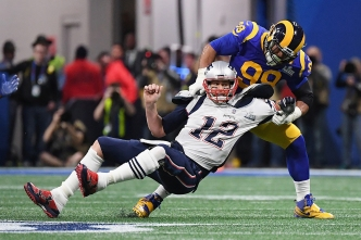 Rams' Defense Plays Tough, But Brief Lapse Was Enough for Patriots