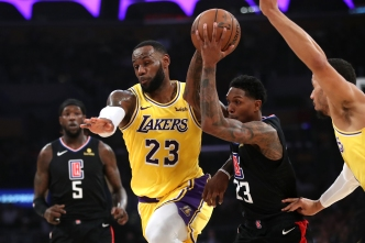 Lakers Lose to Clippers, Cutting Playoff Chances