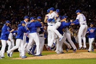 Cubs Eliminate Dodgers, Advance to World Series