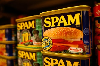 Thieves Target Cans of Spam