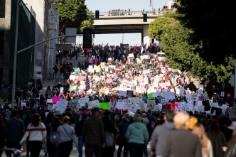 Map: What to Know About Saturday's Women's March in Downtown LA