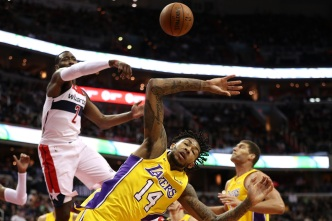 Lakers Can't Get Over Wizards, Wall